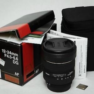 시그마 EX DG EX HSM 12-24mm 렌즈
