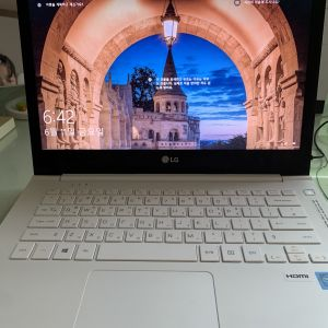 LG울트라PC노트북+로지텍 마우스+어댑터 세트 판매/급처/쿨거래시 4만원 할인
